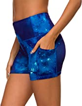 Munvot Women Running Workout Tights Yoga Shorts with Pockets
