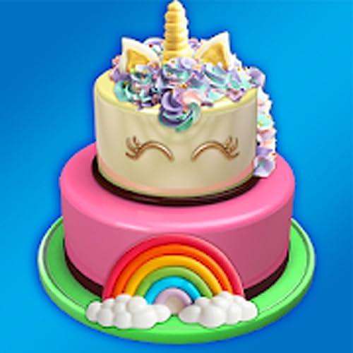 Icing The Cake! Makeup Doll Cake & Unicorn Cakes