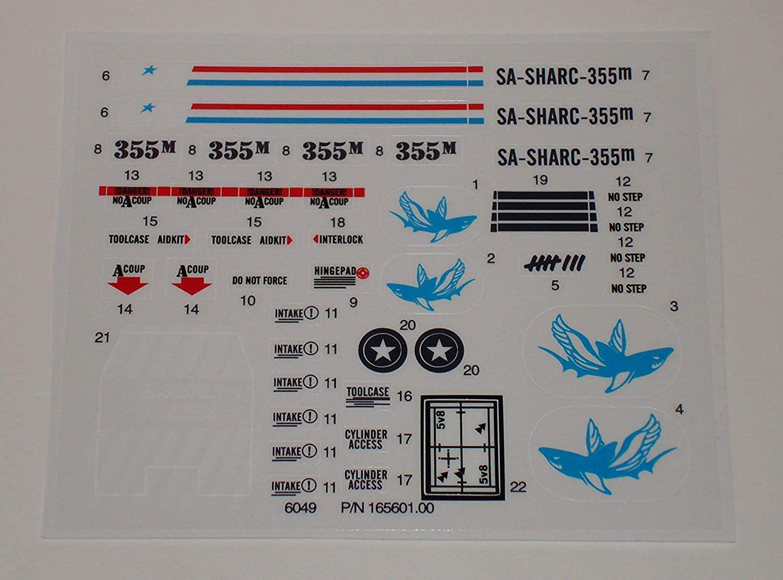 TFK GI Joe S.H.A.R.C. Sticker Sheet