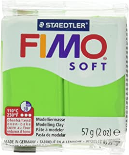Fimo Soft Clay 56gm Apple Green