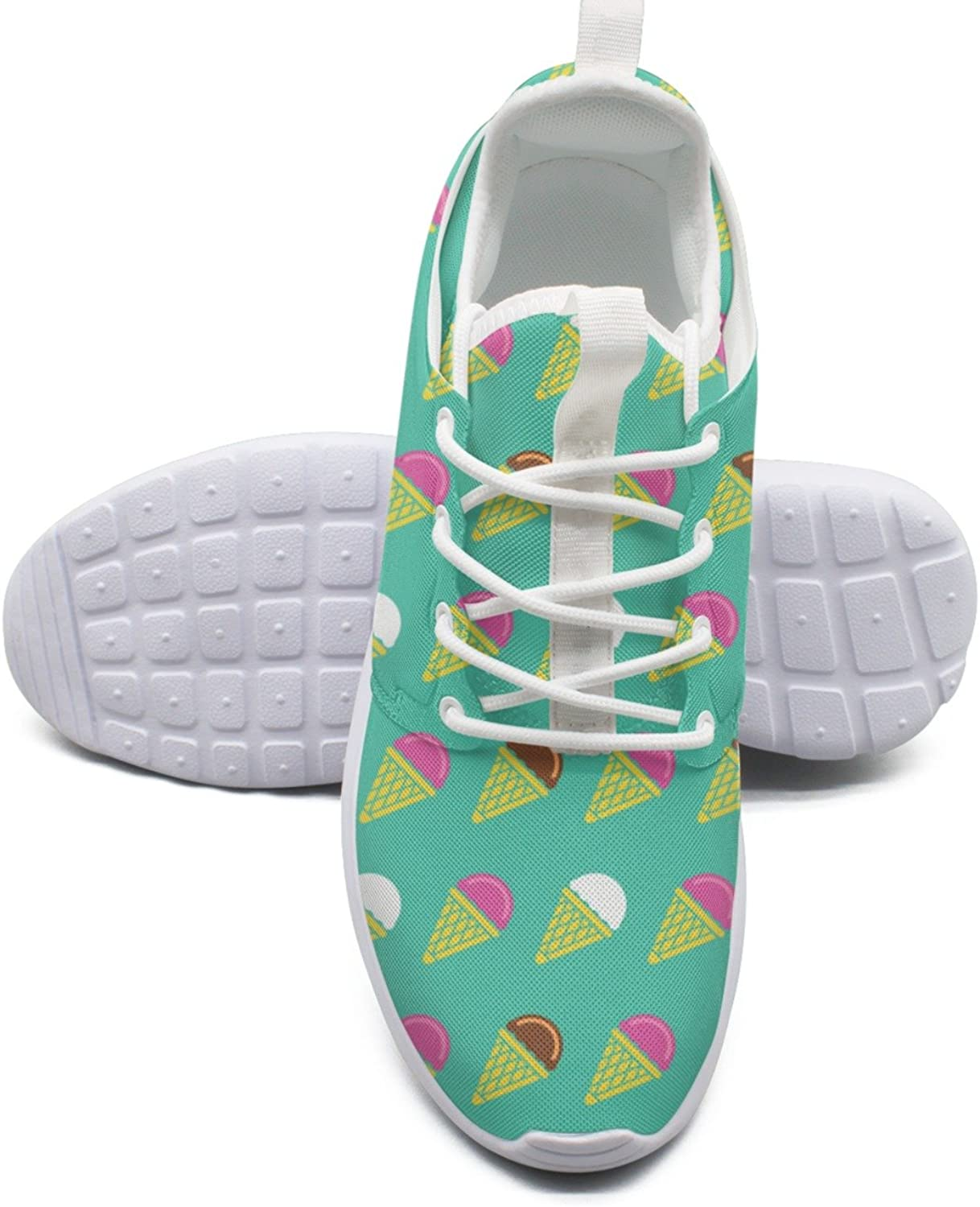 Top Ice Cream Cone Women's Navy Sports Running shoes