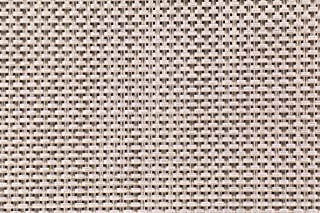 Phifer Cane Wicker Woven Vinyl Mesh Sling Chair Outdoor Fabric in Oyster