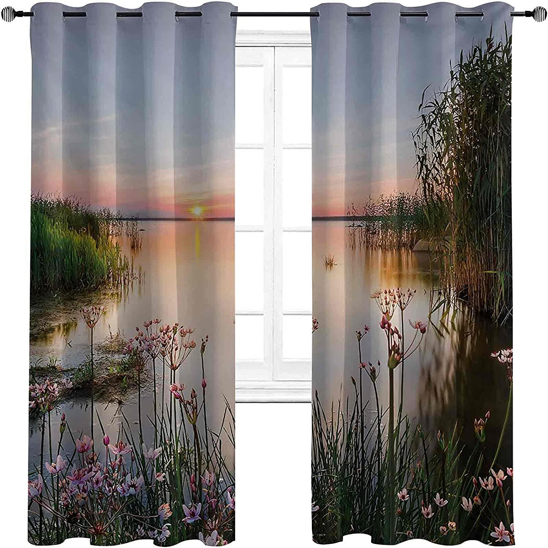 Blackout Tulsa Mall Nature Curtain Sunset Max 82% OFF at Sp Lake Chudskoy View Estonia