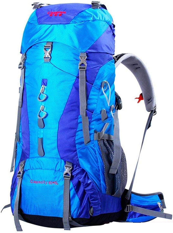 Outdoor Bergsteigen Bergsteigen Bergsteigen Tasche Schultern Männer und Frauen Multifunktions Große Kapazität Wasserdichte Reiserucksack B07FD9JRRV  Verpackungsvielfalt fd2830