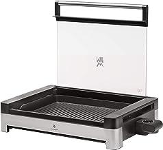 WMF Lono Elektrische tafelgrill met glazen deksel, gecoate grillplaat, uitneembare opvangschaal, vaatwasmachinebestendig, ...
