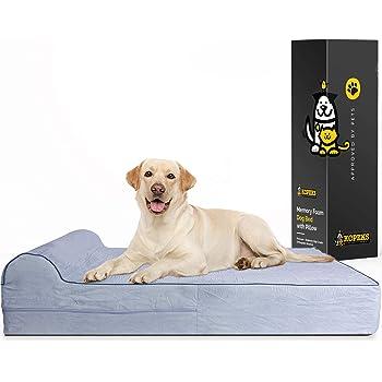 dogbed4less XL Premium Orthopedic Memory Foam Dog Bed
