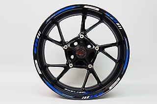 Pegatina para llantas 710003 Rim Stripes GP-Style - Racing 1000 Blue - set completo - para llantas de 16, 17 y 18 pulgadas y 9 mm de ancho