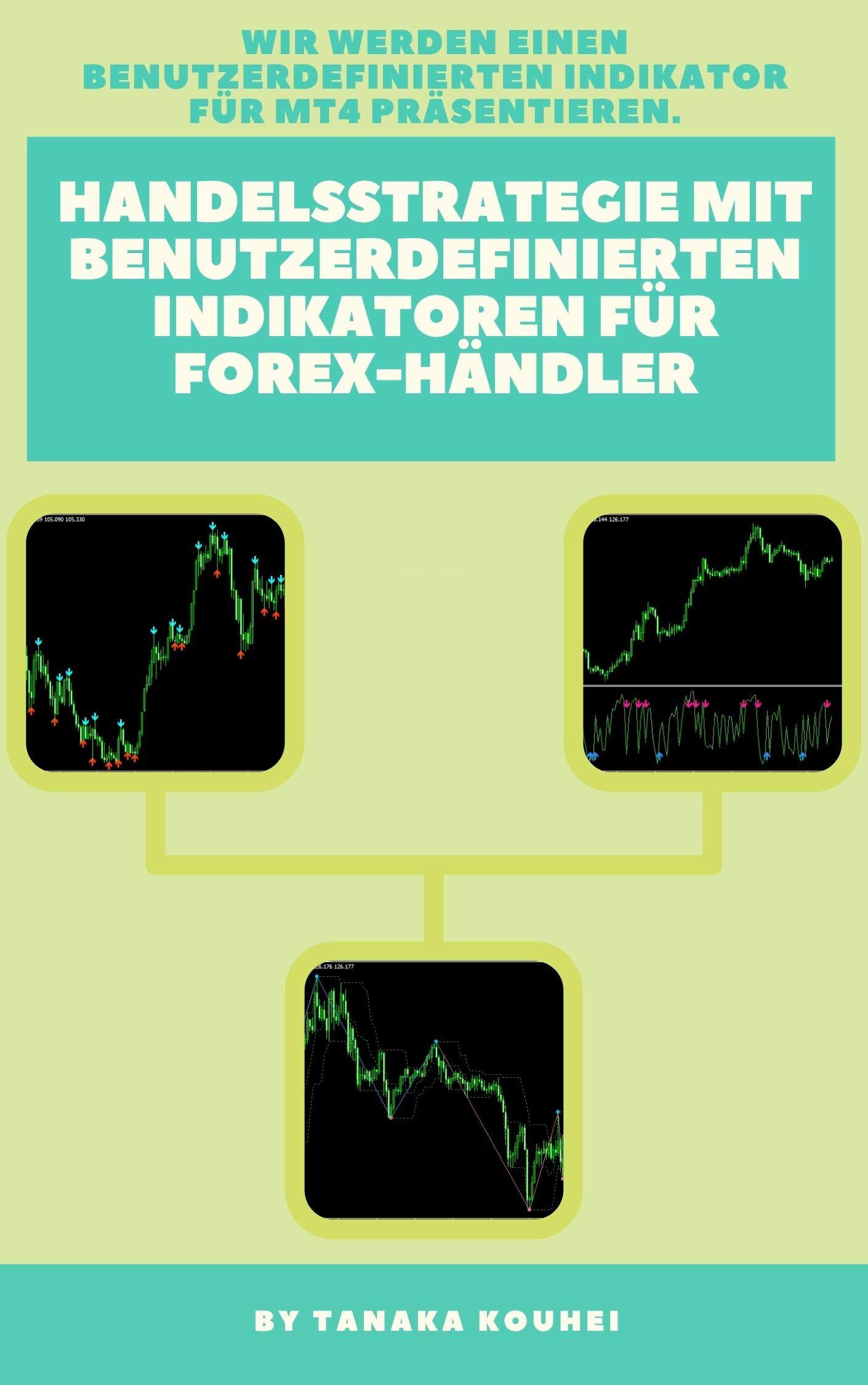 Handelsstrategie mit benutzerdefinierten Indikatoren für Forex-Händler: Holen Sie sich einen benutzerdefinierten Indikator für MT4. (German Edition)