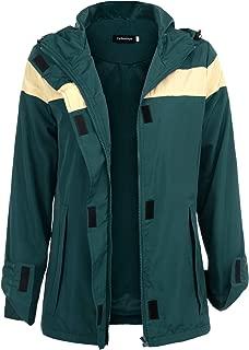Raincoat Outdoor Womens Casual Active Lightweight Rain Jacket with Hood