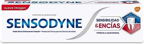 Sensodyne Sensibilidad & Encías Pasta de Dientes para el Alivio de la Sensibilidad Dental y Potenciar la Salud de las...