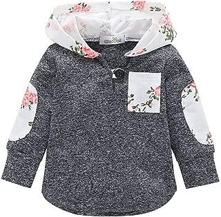 Fairy Baby Toddler Girls Floral Outfit Jacket Hoodies Outwear Coat Sweatshirt Warm