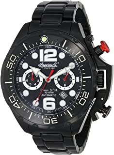 インガーソル 腕時計 自動巻き ドイツブランド カレンダー 機能 BISON N° 34 IN1623BKBK [並行輸入品]