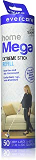 Evercare Mega Cleaning Roller Refill 50 Sheets 10Inches Wide (2 Pack)