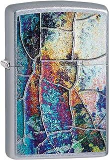 Zippo 中性款锈铜色设计防风打火机,镀铬,常规款