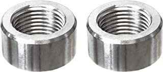 PitVisit Stainless Steel Exhaust Bungs for Standard Size Bosch Style Lambda Wideband Oxygen Sensors Universal Weld-On - Pack of 2 (Standard)