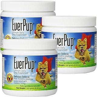 EverPup Multivitamin Dog Supplement - Glucosomine & Apoptogens for Hip & Joint Health + Probiotics & Prebiotics with Enzym...