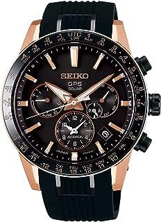 astron Mens Analog Solar Watch with Silicone Bracelet SSH006J1