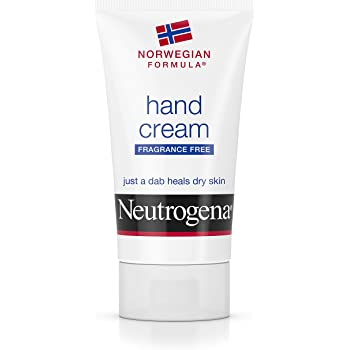 Neutrogena Norwegian Formula Moisturizing Hand Cream Formulated with Glycerin for Dry, Rough Hands, Fragrance-Free Intensive Hand Lotion, 2 oz