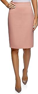 Mujer Falda-Lápiz de Lino