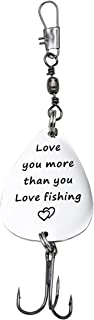 Love You More than You Love Fishing Lure Guy Gift For Him Gift Birthday Gift Boyfriend Husband Gift Fiancé Gift Fishing Valentines Day