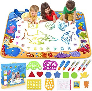 Toyk Aqua Magic Mat – Kids Painting Writing Doodle Board Toy – Color Doodle..