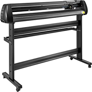 VEVOR Vinyl Cutter 53Inch Vinyl Cutter Machine Manual Vinyl Printer Plotter Cutter with Floor Stand Vinyl Plotter Adjustab...