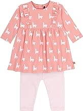 Deux par Deux Baby Girl Organic Dress and Legging Set