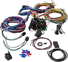 maXpeedingrods Universal 21 Circuit 17 Fuses Wiring Harness Wires Kit for Chevy Mopar Ford Hotrod Chrysler Extra Long Wires
