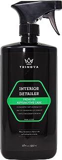 Detailer Quick Interior Interior - Stain Remover ، پاک کننده داشبورد و محافظ ، وینیل اتومبیل ، لاستیک ، ابزار تمیز کردن چرم. 18oz TriNova