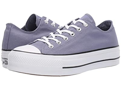 Converse Chuck Taylor All Star Lift Seasonal Canvas Ox (Stellar Indigo/White/Black) Women