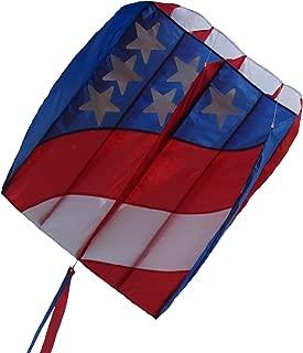 In the Breeze 2980 Patriot Wave 7.5 Parafoil Kite