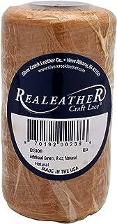 Realeather Deer, Natural Artificial Sinew, 8 oz