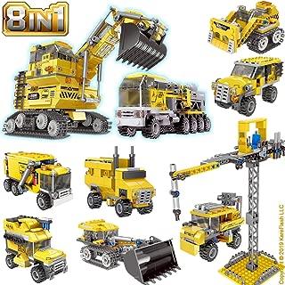 KareFLASH Construction Vehicles Lego Compatible Bricks |...