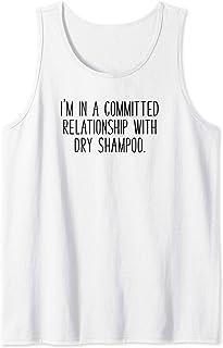 Ho una relazione impegnata capelli di bellezza dello shampoo Canotta