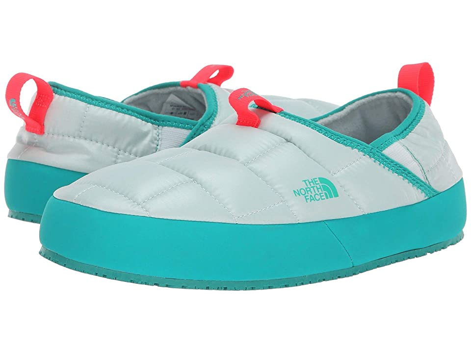 The North Face Kids Thermal Tent Mule II (Toddler/Little Kid/Big Kid) (Icee Blue/Kokomo Green) Girls Shoes
