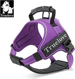 TRUE LOVE Truelove Dog Harness No-Pull Reflective Stitching Ensure Night Visibility, Outdoor Adventure Big Dog Harness Perfect Match Puppy Vest TLH5753 Now Available in 6 Colors 6 Sizes