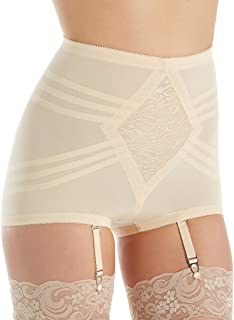 Rago Shapette Control Brief Panty with Contour Bands (619)