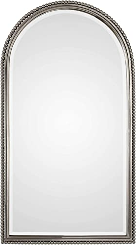 """wholesale Uttermost wholesale Sherise Brushed Nickel 22 1/2"""" lowest x 41"""" Wall Mirror outlet online sale"""