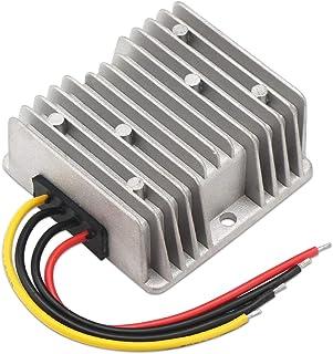 Down Voltage Regulator, DROK Car Power Supply Step-Down Module DC 20-55V to DC 12V 10A 120W Waterproof Buck Converter Volt...