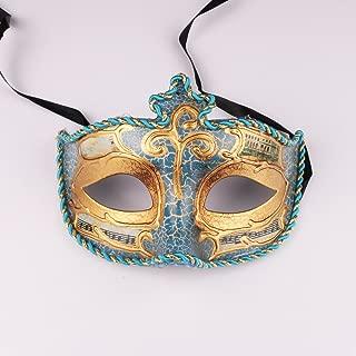 Half Face Masquerade Ball Venetian Mask