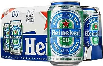 Heineken 0.0% Non Alcohol Beer - Great Taste, Zero Alcohol, 11.2 Fl Oz | 6 Pack