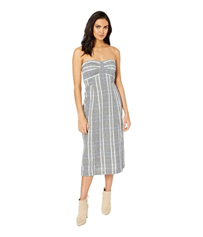 Free People Life Like This Plaid Dress (Blue) Women