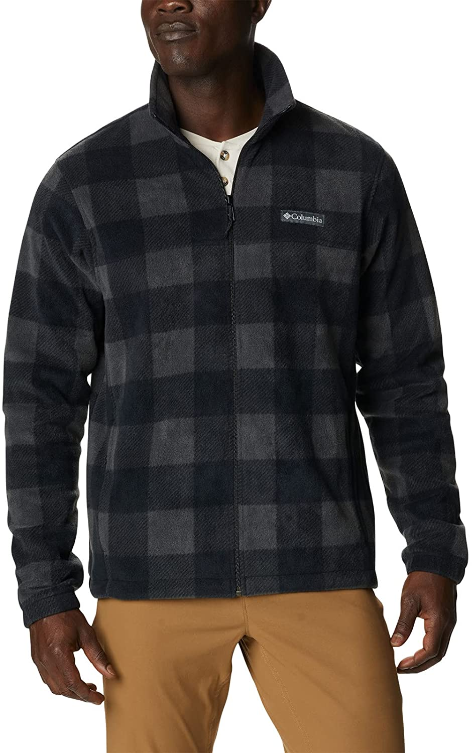 Outlet sale feature Columbia Men's Steens Printed Mountain Jacket Gifts