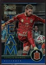 Sergio Ramos 2015 Panini Select Ultimate Team Blue #6 Mint /299 Soccer Pro