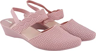 TATTOOZ PVC Flat Fashion Sandals for Women Open Toe Ankle Belt Strappy Floater Footwear Comfortable Sliders Casual Ladies ...
