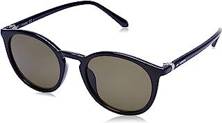 نظارة شمسية متدرجة الحجم بعدسات دائرية للنساء من فوسيل - (FOS 3092 / SFOS 3088/S 807 50QT|50 | عدسات خضراء اللون)