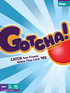 GOTCHA! BOARD GAME by Buffalo Games  Catch your friends before they catch you!