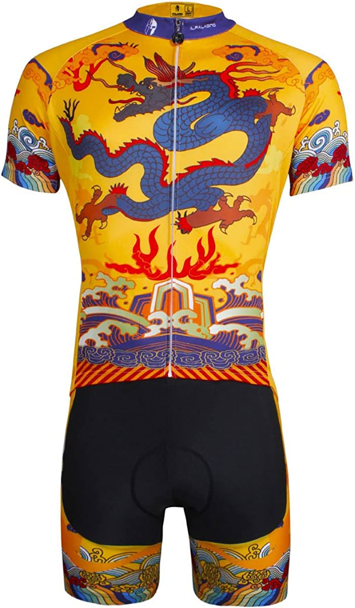 LAOYOU Chinese Dragon Mens Genuine Cycling 6XL Size Jersey S Tulsa Mall To