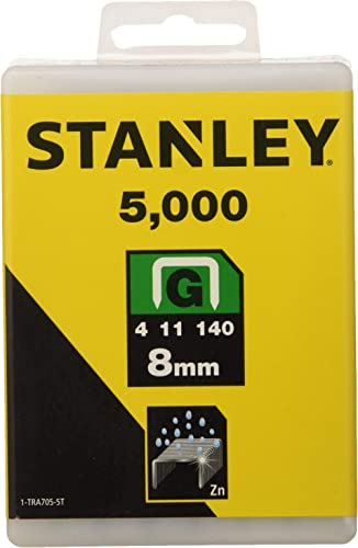 est/ándar 10 mm 5 Cajas x 1000 Unidades, para Cables de 4.5 mm en di/ámetro Set de 5000 Piezas Tacwise 0352 Grapas Serie CT-45 x 10 mm