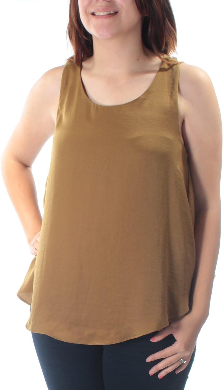 RACHEL ROY $59 Womens New 4154 Green Slitted Open Back Tunic Top S B+B